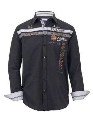 Babista Overhemd BABISTA Zwart