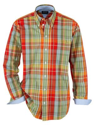 Babista Overhemd BABISTA Oranje::Rood