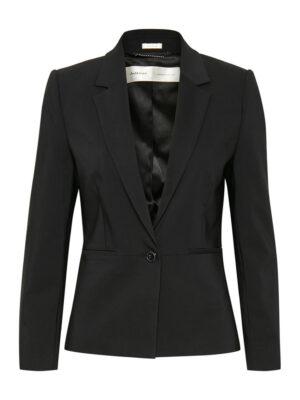 InWear Basis blazer uit de collectie van Inwear. Dit model is licht getailleerd