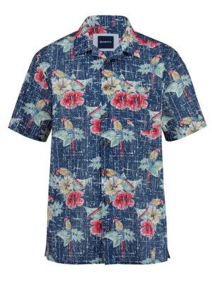 Babista Overhemd Hawai BABISTA Blauw::Multicolor