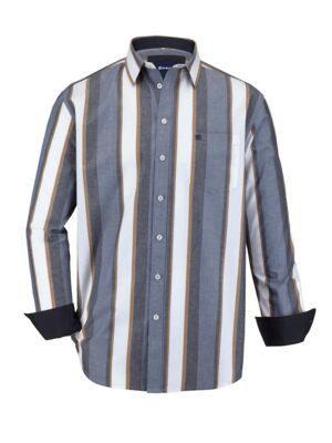 Babista Overhemd BABISTA Blauw::Bruin::Wit