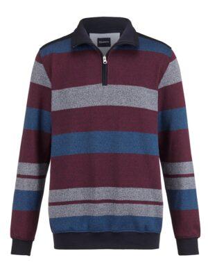 Babista Sweatshirt BABISTA Bordeaux::Blauw
