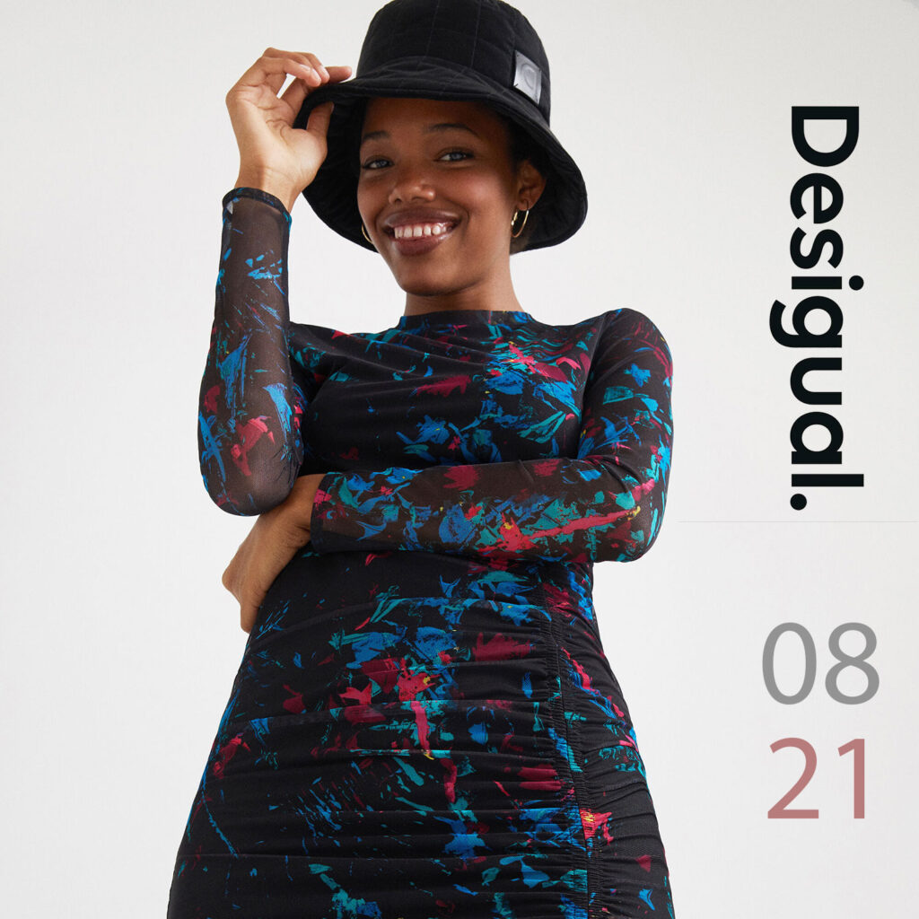 Pops-Fashion.com dameskleding Desigual collectie Augustus 2021