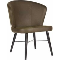 Fauteuil Wave - Army green - Microfiber