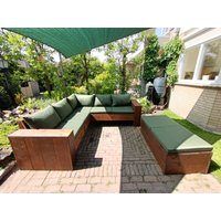 Loungebank - 224x224 cm