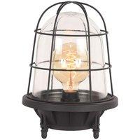 Tafellamp Seal - Zwart - Metaal