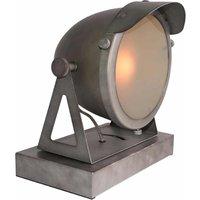 Tafellamp Cap - Burned Steel - Metaal