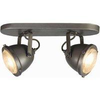 Spot Moto - Burned Steel - Metaal - 2 Lichts