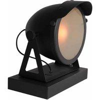 Tafellamp Cap - Zwart - Metaal