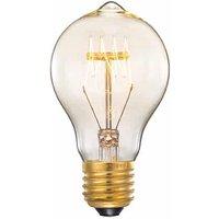 Lichtbron Spiraallamp Bol - Glas - M