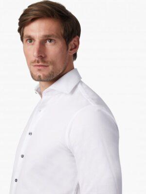 Cavallaro Napoli Heren Overhemd - Lucci Overhemd - Wit -